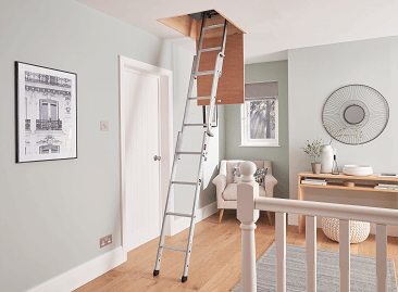 Youngman lightweight loft ladders