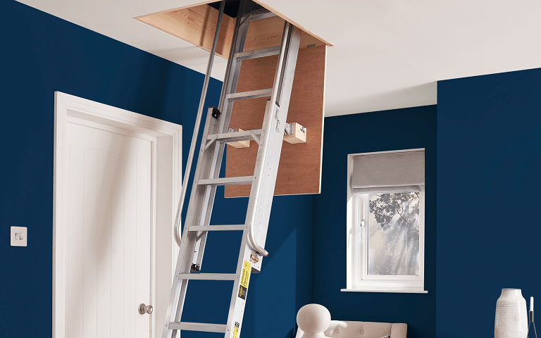 How to choose a loft ladder - heavy-duty aluminium loft ladder