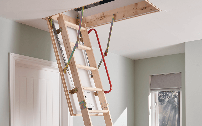 How to choose a loft ladder - Youngman timber loft ladders