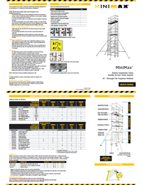 MiniMax Towers Quick Guide