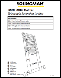 Youngman Telescopic Ladders User Instructions
