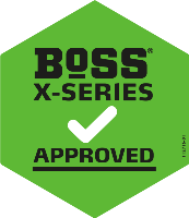 BoSS X-Series Approved sticker
